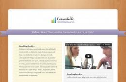 Convertible WordPress Theme