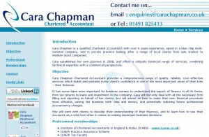 Cara Chapman Website Design