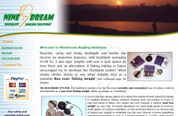 Ninebream Angling Website