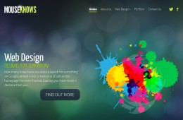 Mouse Knows – Website Design
